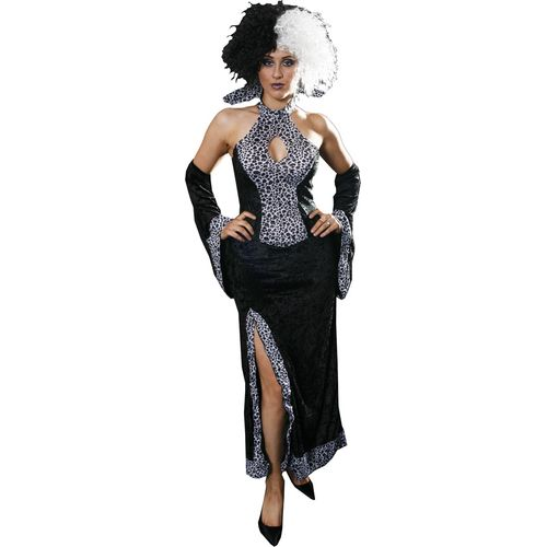 Dalmatian Lady Fancy Dress Costume Size 6-8