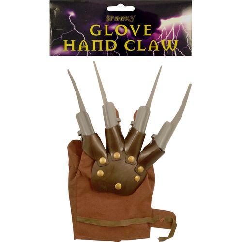 Freddy Krueger Style Fright Glove Halloween Fancy Dress Accessory