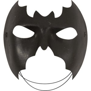 Bat Half Face Mask (Black)