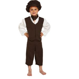 Victorian Boy Costume Age 7-9 Years