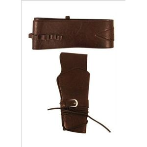 Cowboy Gun Belt With Holster