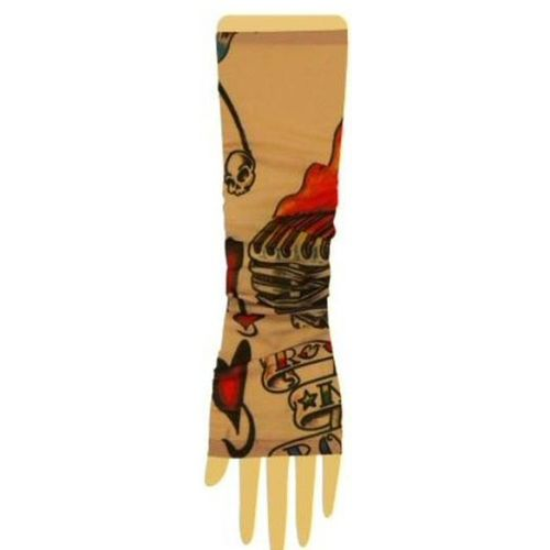 Tattoo Sleeves Fancy Dress Costume Accessory