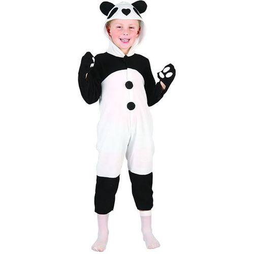 Childrens Panda Animal Onesie Fancy Dress Costume Age 2-4 Years