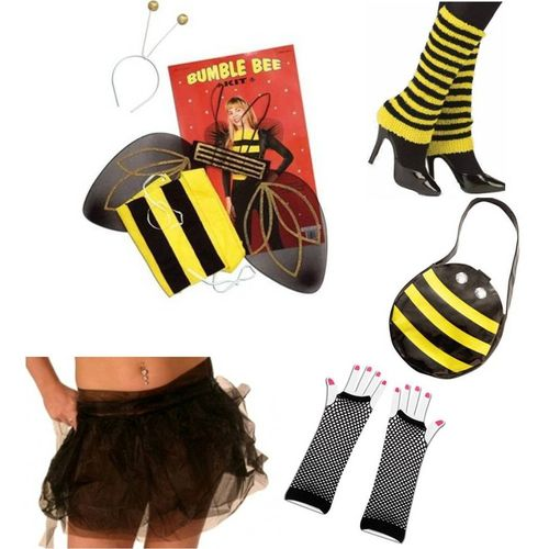 Bumble Honey Bee Fancy Dress Acesssory Kit