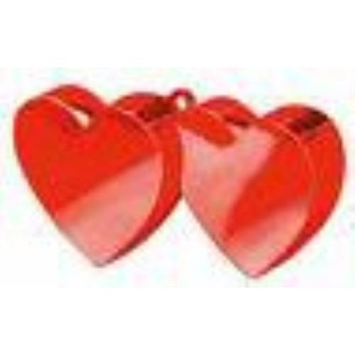Hearts Balloon Weights (Red) 6 Pack
