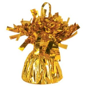 Outburst Balloon Weight (Gold) 6 Pack