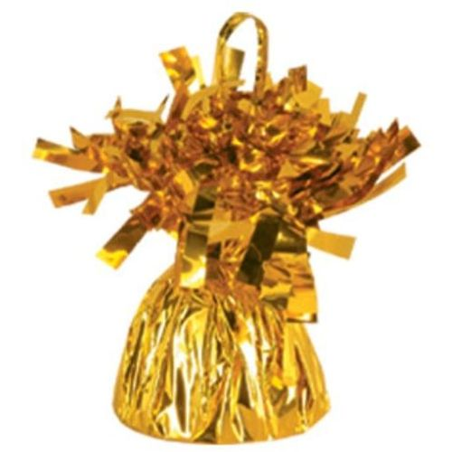 Six Party Decoration Outburst Balloon Weight  Gold