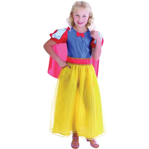 Childrens Snow White Style Fancy Dress Costume Age 7-9 Years