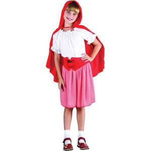 Childs Red Riding Hood Costume Age 9-11 Years
