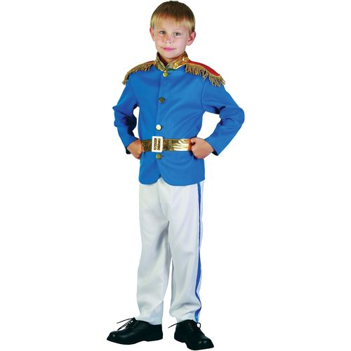 Childs Prince Charming Style Fancy Dress Costume Age 7-9 Years