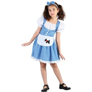 Childs Dorothy Wizard Of Oz Costume Age 5-7