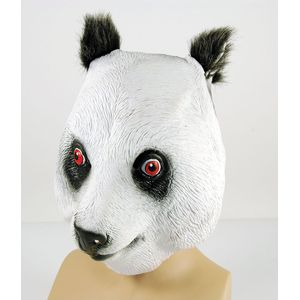 Panda Animal Rubber Overhead Mask