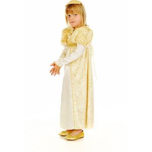 Childs Golden Princess Costume Age 5-7 Years