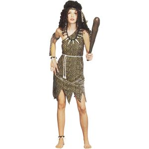 Cave Woman Costume Size 10-14