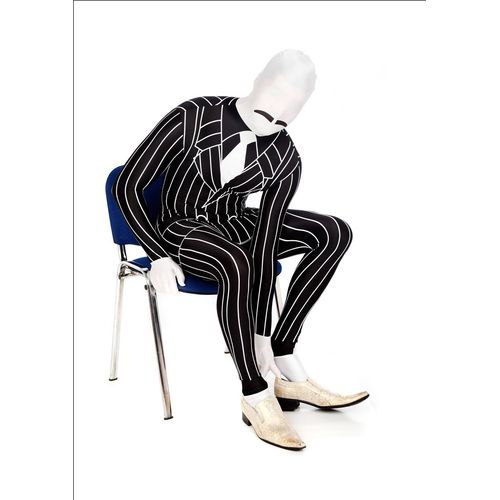 Gangster Official Morphsuit Fancy Dress Costume Size XXL