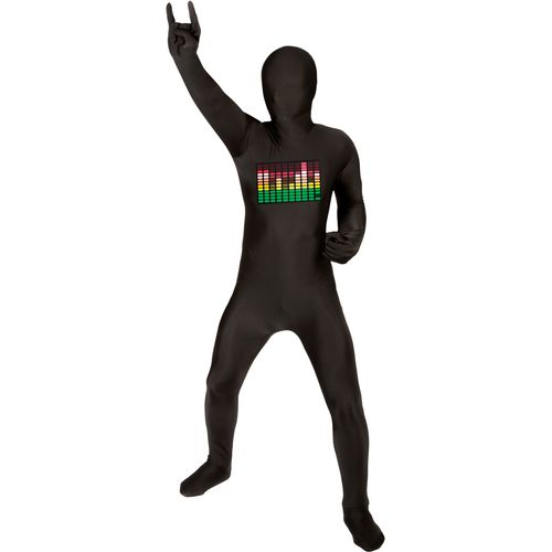 Childs Raver Official Morphsuit Age 8-10 Years Fancy Dress Costume