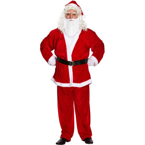 Santa Suit Christmas Fancy Dress Costume One Size Fits Most