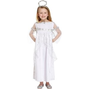 Childs Angel Fancy Dress Costume Age 7-9 Years