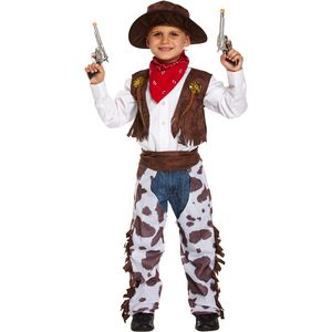 Childs Cowboy Costume Age 4-6 Years