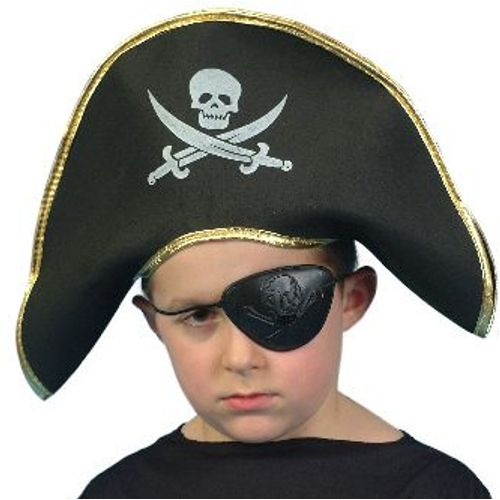 Pirate Polyester Fancy Dress Hat
