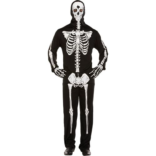 Skeleton Halloween Fancy Dress Costume One Size Fits Most