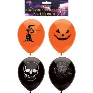 Halloween Printed Balloons 15 Pack