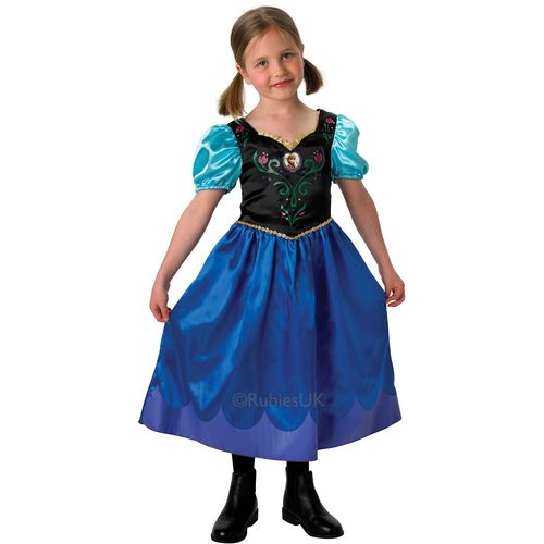 Classic Anna Disney Frozen Princess Dress Fancy Dress Costume Age 5-6 Years