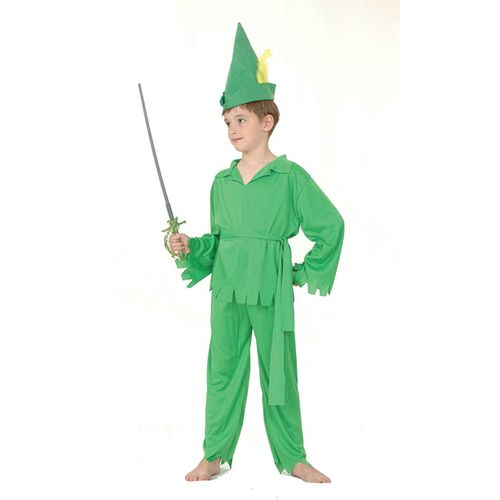 Peter Pan Robin Hood Fancy Dress Outfit Costume Age 6 - 8 Years