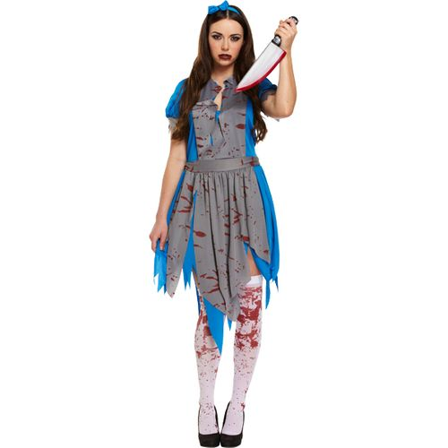 Horror Alice Halloween Fancy Dress Costume Size 12 - 14