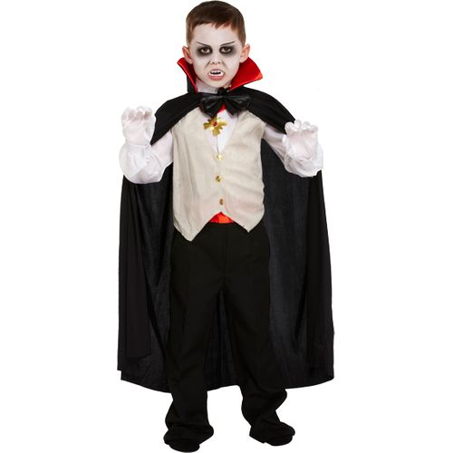 Childs Little Vampire Halloween Fancy Dress Costume Age 4-6 Years