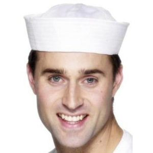 Sailor Doughboy Hat (White)