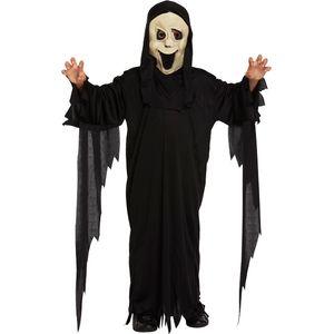 Childs Demon Scream Ghost Costume Age 7-9 Years