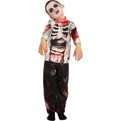 Zombie Boy Halloween Fancy Dress Outfit Age 4 - 6
