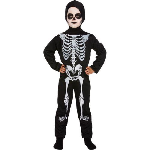 Childs Skeleton Halloween Fancy Dress Costume Age 10-12 Years