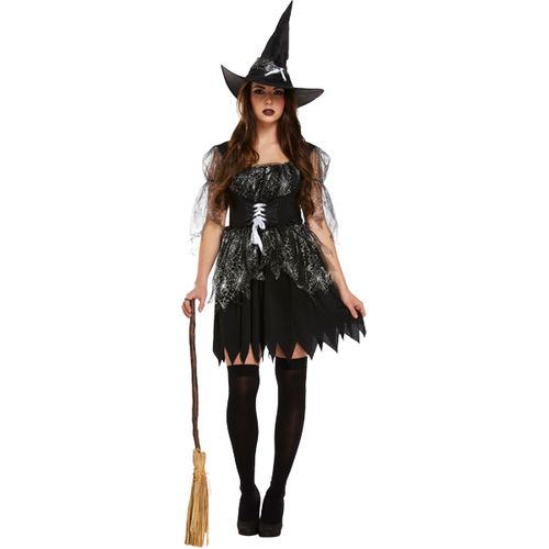 Wicked Witch Spell Caster Halloween Fancy Dress Costume