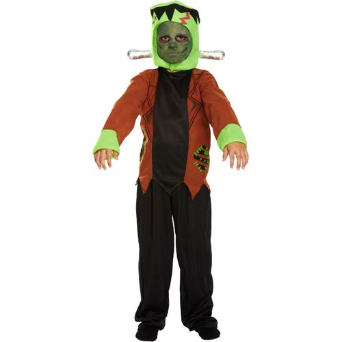 Frankenstein Monster Kids Costume Age 10 - 12 Years Halloween Fancy Dress