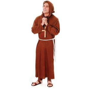 Monk Plus Size Costume Size L-XXL