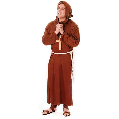 Monk Plus Suze Fancy Dress Costume (L-XXL)
