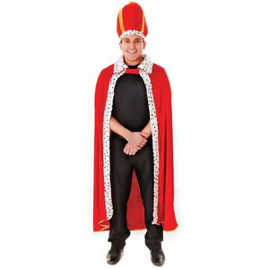 King Robe & Hat Costume One Size