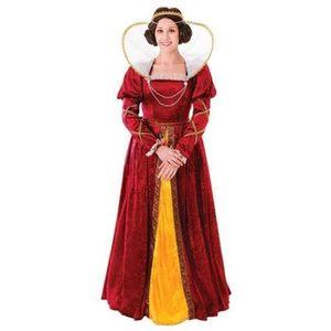 Deluxe Queen Elizabeth Costume Size 12-16