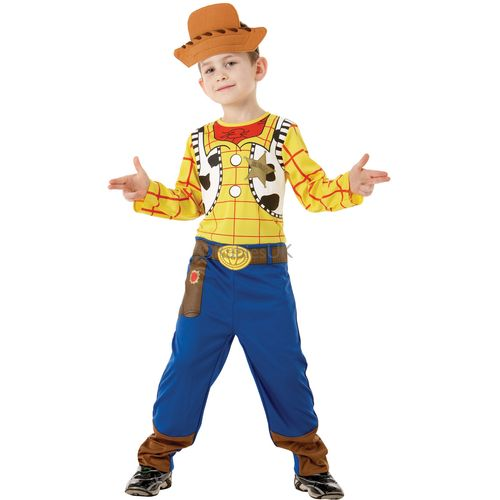 Classic Woody Toy Story Fancy Dress Book Week TV Film Dress Up Costume Boys Large