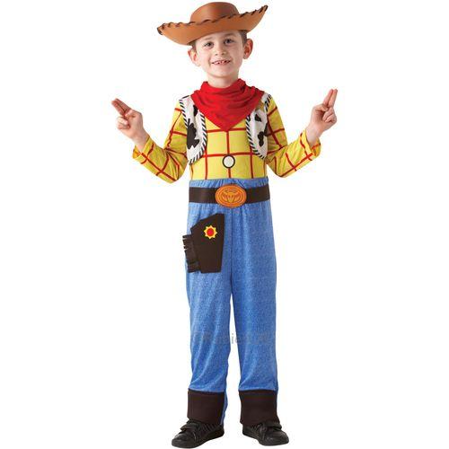 Toy Story Deluxe Woody Costume Fancy Dress 5 - 6 Years Outfit Kids Film TV Disney Pixar