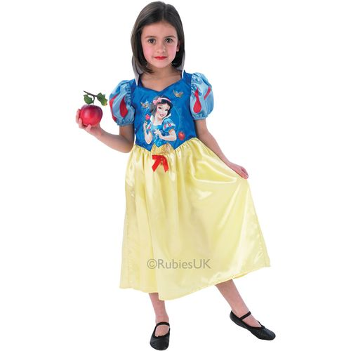 Snow White Disney Princess Storytime Dress Up Costume Large 7 - 8 Years