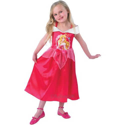 Sleeping Beauty Fancy Dress Up Disney Princess Storytime Costume Age 7 - 8 Years