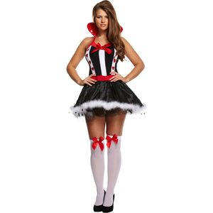 Sexy Queen of Hearts Costume Size 12-14