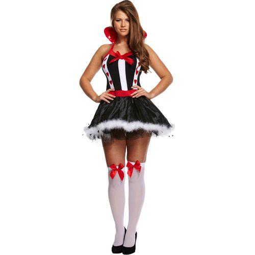 Queen Of Hearts Book Week Adult Fancy Dress Costume Alice