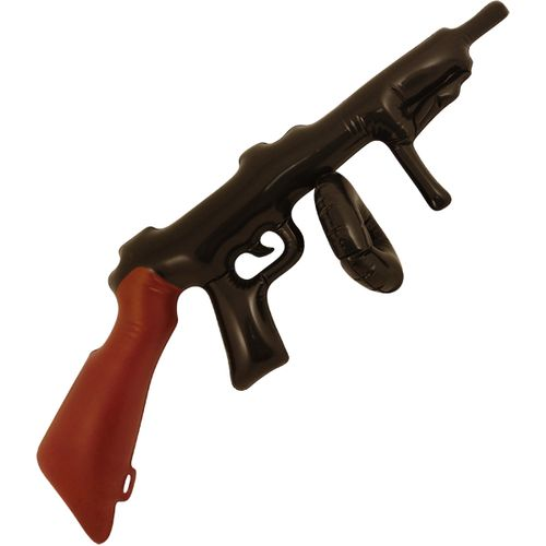 Inflatable Tommy Gun Approximately 80cm