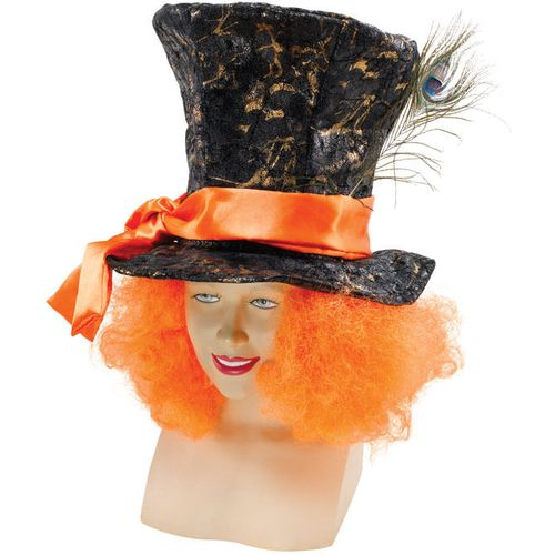 Mad Hatter Alice In Wonderland Fancy Dress Book Week Hat Costume Accessory