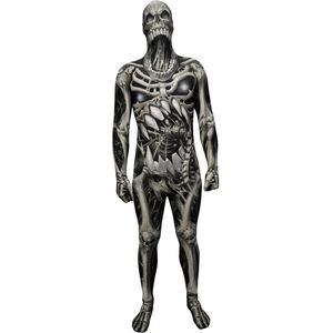 Childs Skull & Bones Morphsuit Age 8 -10 Years