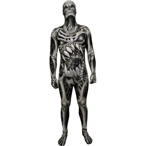 Kids Morphsuit Monster Collection Skull & Bones Halloween Costume